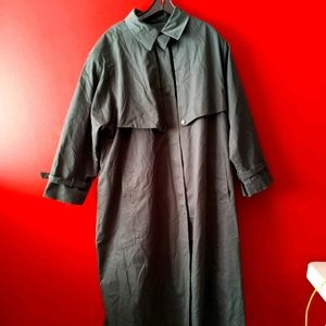 Army Green Bromley Collection Trench Coat  Sz 22